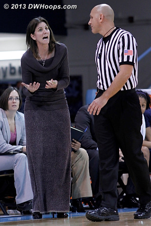 Coach Boyle pleads her case to Luis Gonzalez  - UVA Players: Head Coach Joanne Boyle