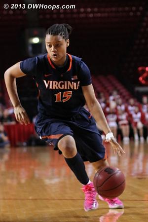 ACCWBBDigest Photo  - UVA Players: #15 Jaryn Garner