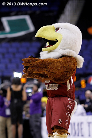 ACCWBBDigest Photo  - BC Players: Mascot Baldwin the Eagle