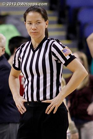 Referee Maj Forsberg