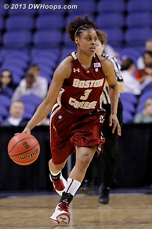ACCWBBDigest Photo  - BC Players: #3 Tessah Holt