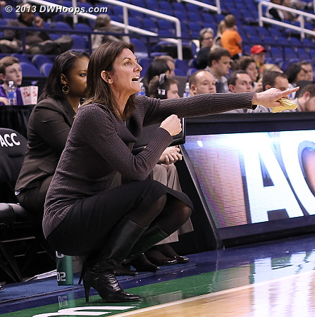 ACCWBBDigest Photo  - UVA Players: Head Coach Joanne Boyle