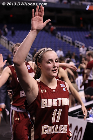 ACCWBBDigest Photo  - BC Players: #11 Nicole Boudreau
