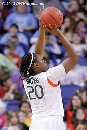 ACCWBBDigest Photo  - MIA Players: #20 Keyona Hayes