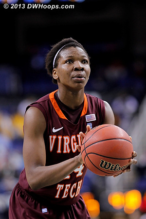ACCWBBDigest Photo  - VT Players: #14 Uju Ugoka
