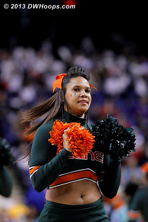 ACCWBBDigest Photo  - MIA Players:  Miami Cheerleaders