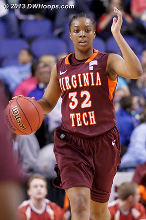 ACCWBBDigest Photo  - VT Players: #32 Alexis Lloyd