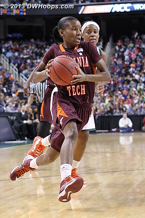 ACCWBBDigest Photo  - VT Players: #3 Aerial Wilson