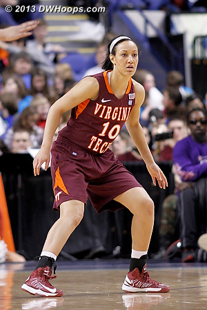 ACCWBBDigest Photo  - VT Players: #10 Lauren Evans