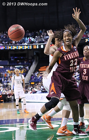 ACCWBBDigest Photo  - VT Players: #22 Porschia Hadley