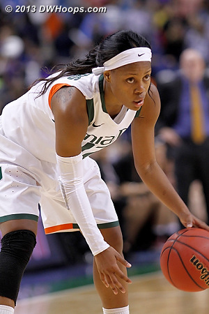ACCWBBDigest Photo  - MIA Players: #12 Krystal Saunders