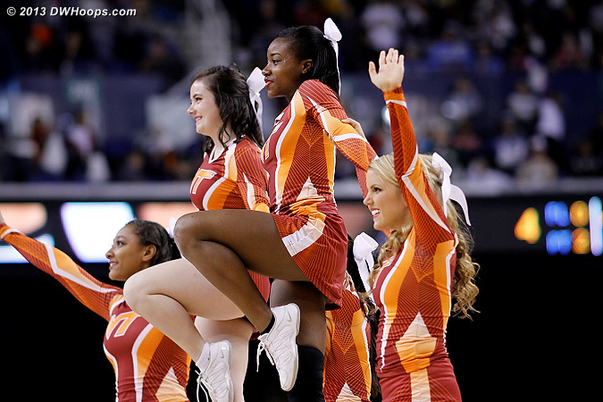 ACCWBBDigest Photo  - VT Players:  Virginia Tech Cheerleaders
