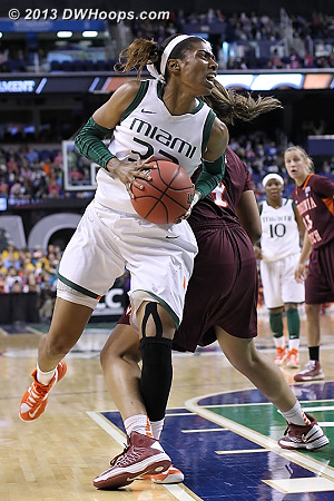 ACCWBBDigest Photo  - MIA Players: #32 Morgan Stroman