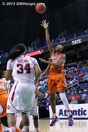 ACCWBBDigest Photo  - CLEM Players: #12 Quinyotta Pettaway