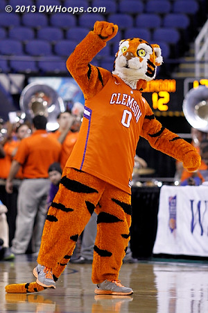 ACCWBBDigest Photo  - CLEM Players: Mascot The Tiger