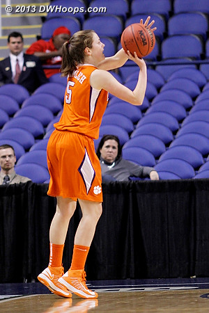 ACCWBBDigest Photo  - CLEM Players: #5 Kelly Gramlich