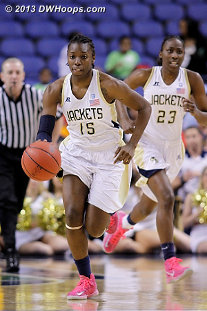 ACCWBBDigest Photo  - GT Players: #15 Tyaunna Marshall