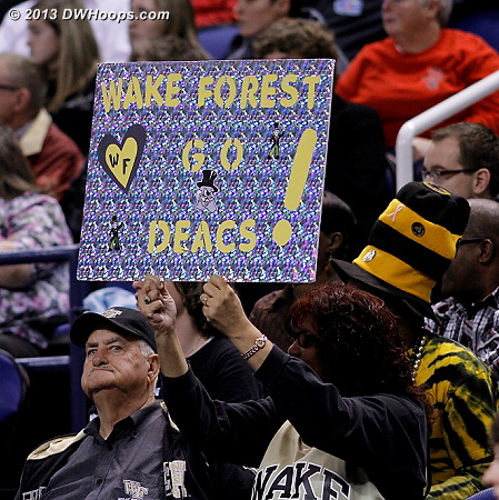 ACCWBBDigest Photo  - WAKE Players:  Wake Forest Fans