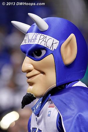 ACCWBBDigest Photo  - Duke Tags: Duke Blue Devil Mascot