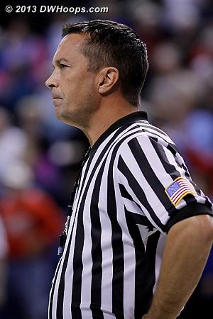 Referee Ed Sidlasky