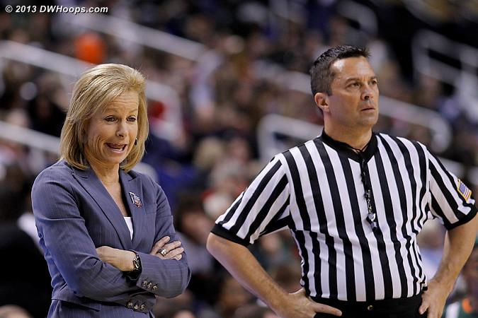 Coach Sue with Ed Sidlasky who isn't buying it  - FSU Players: Head Coach Sue Semrau