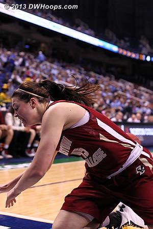 ACCWBBDigest Photo  - BC Players: #45 Katie Zenevitch