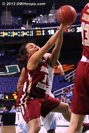 ACCWBBDigest Photo  - BC Players: #31 Tiffany Ruffin
