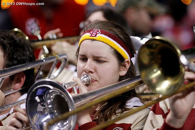 ACCWBBDigest Photo  - BC Players:  Boston College Band