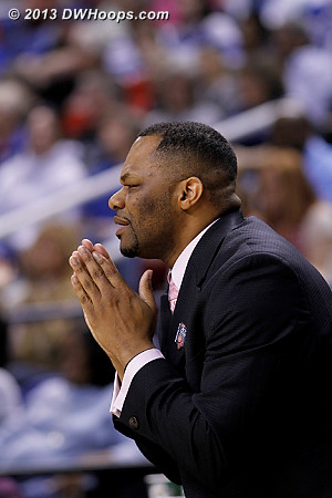 On the FSU bench (this was clapping not praying) *tag corrected*  - FSU Players: Assistant Coach Ronald Hughey