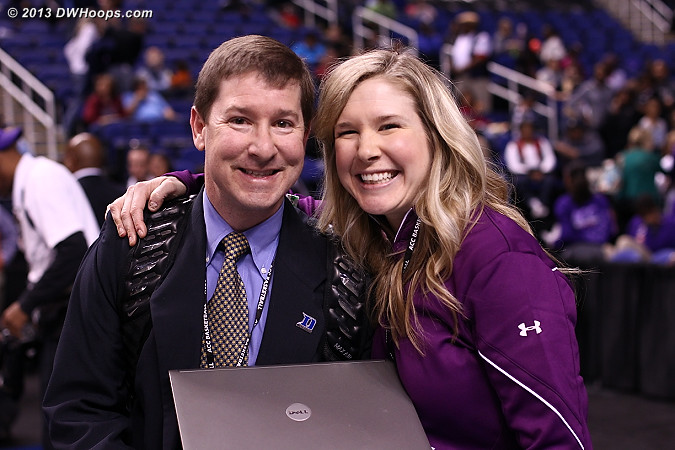 Duke SID Lindy Brown and Amy Ufnowski from the ACC make our jobs so much easier.  Thank you both!