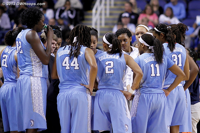 Carolina huddle