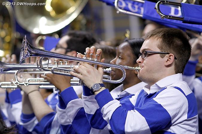 Duke Pep Band working hard!  - Duke Tags: Duke Pep Band