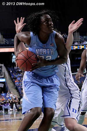UNC senior center Waltiea Rolle will be playing in her final NCAA Tournament.