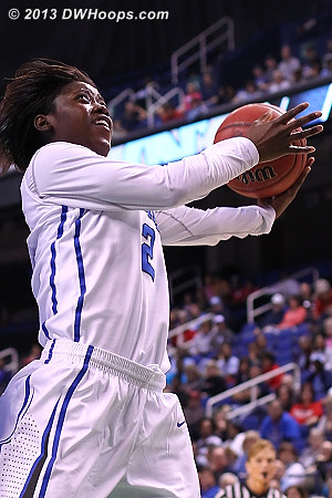 Alexis Jones was named ACC Tournament MVP, only the third freshman to ever earn that honor
