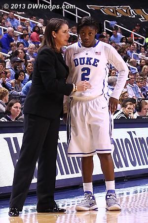 Coach McCallie steadies her freshman point guard