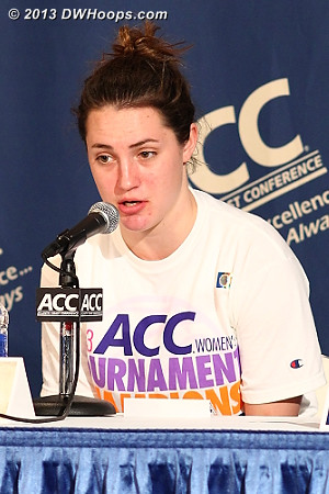 Press Conference  - Duke Tags: #33 Haley Peters