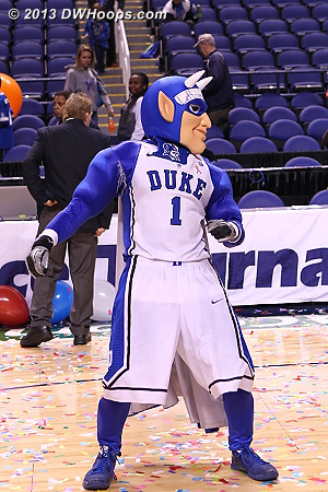 I am guessing this is the Harlem Shake.  - Duke Tags: Duke Blue Devil Mascot