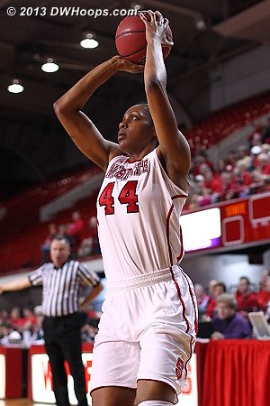 ACCWBBDigest Photo  - NCSU Players: #44 Kody Burke