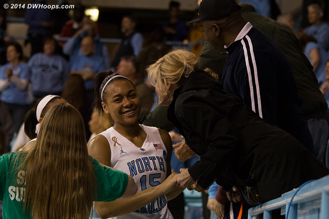 Gray and the Heels head to a Sunday matchup with South Carolina in the Stanford Regional semi-finals.  - UNC Players: #15 Allisha Gray