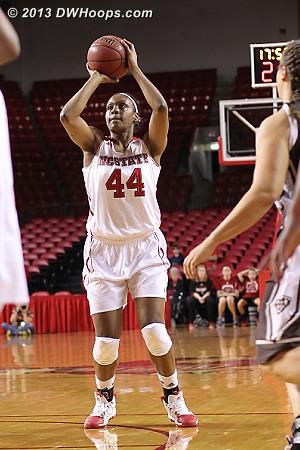 Kody puts State ahead 7-2  - NCSU Players: #44 Kody Burke