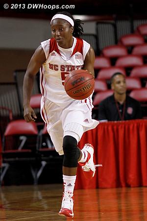 ACCWBBDigest Photo  - NCSU Players: #5 Breezy Williams