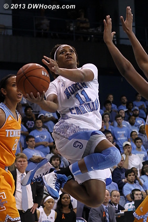 Rountree elevates  - UNC Players: #11 Brittany Rountree