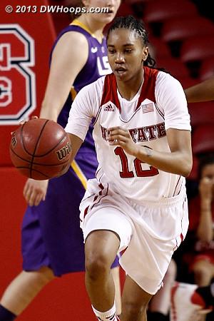 ACCWBBDigest Photo  - NCSU Players: #12 Krystal Barrett