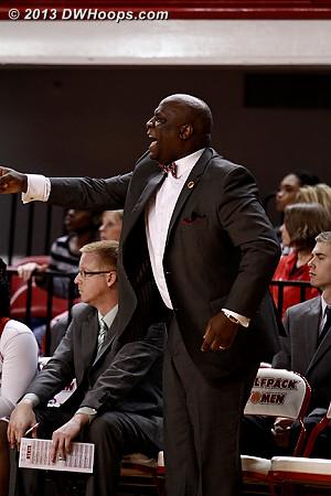 ACCWBBDigest Photo  - NCSU Players: Assistant Coach Gene Hill