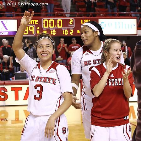 ACCWBBDigest Photo  - NCSU Players: #3 Miah Spencer