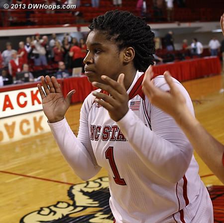 ACCWBBDigest Photo  - NCSU Players: #1 Myisha Goodwin-Coleman
