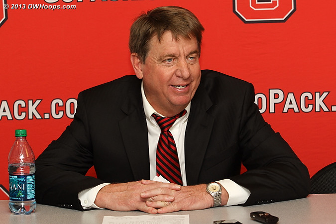 Coach Moore was pleased that NC State won, though he did not ignore the