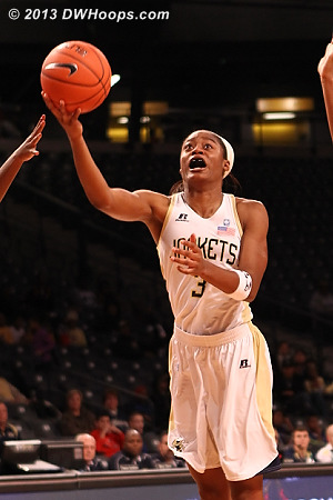 ACCWBBDigest Photo  - GT Players: #3 Kaela Davis