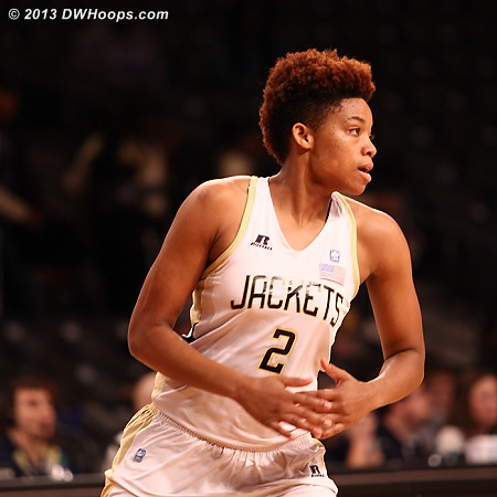 ACCWBBDigest Photo  - GT Players: #2 Aaliyah Whiteside