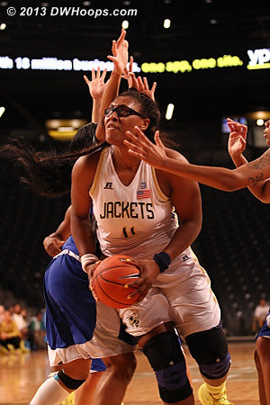 ACCWBBDigest Photo  - GT Players: #11 Nariah Taylor